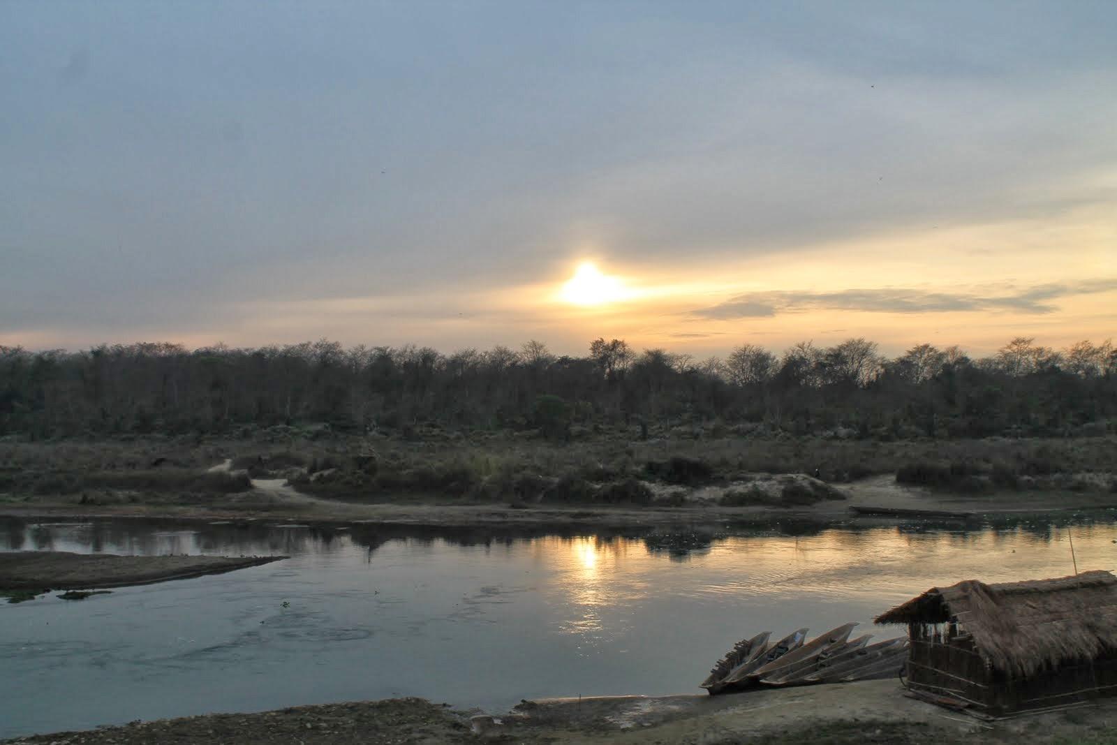 Sahaura - coucher de soleil.