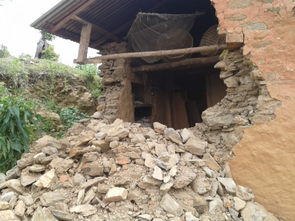 Par Rupen, Maison détruite