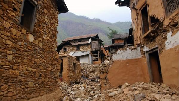 Par Prabesh, village détruit