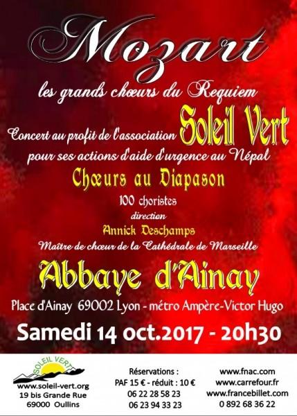 Affiche Concert 14 octobre 2017.